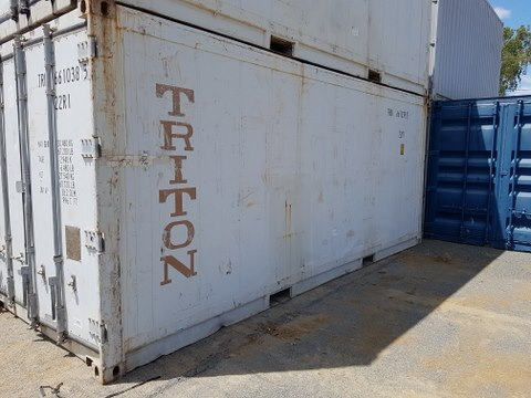 Refrigerated Shipping Container for Sale in Emerald